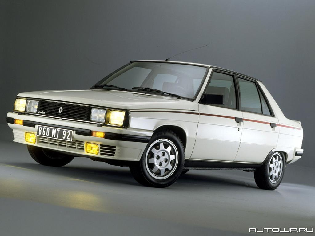 Renault 9 Autowp Ru Renault R9 Turbo 1