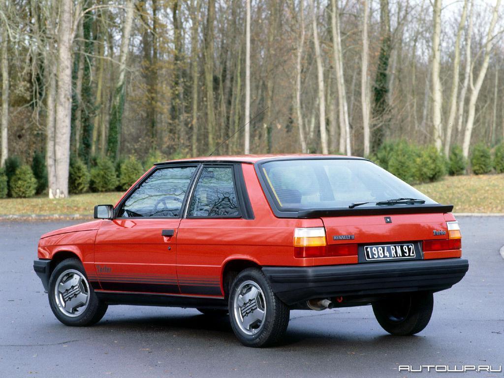 Renault 11 Autowp Ru Renault R11 Turbo 2