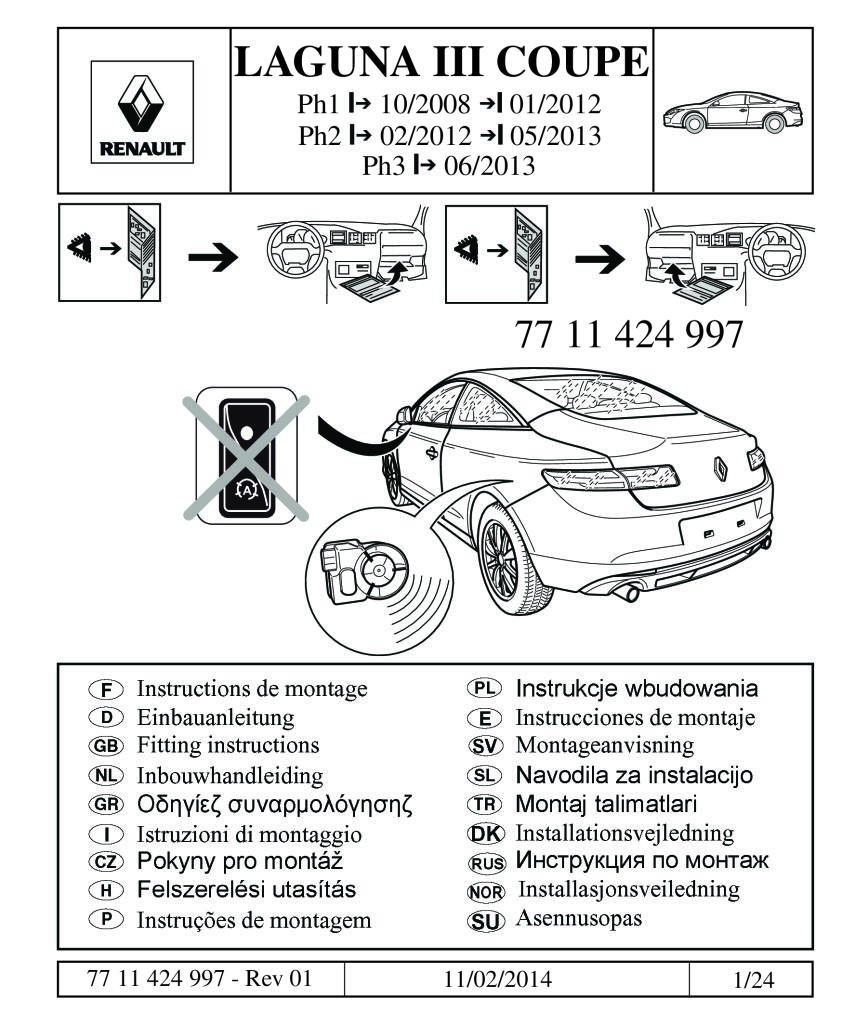 40 laguna iii coupe fitting manual alarm coupe not stopstart.pdf ...