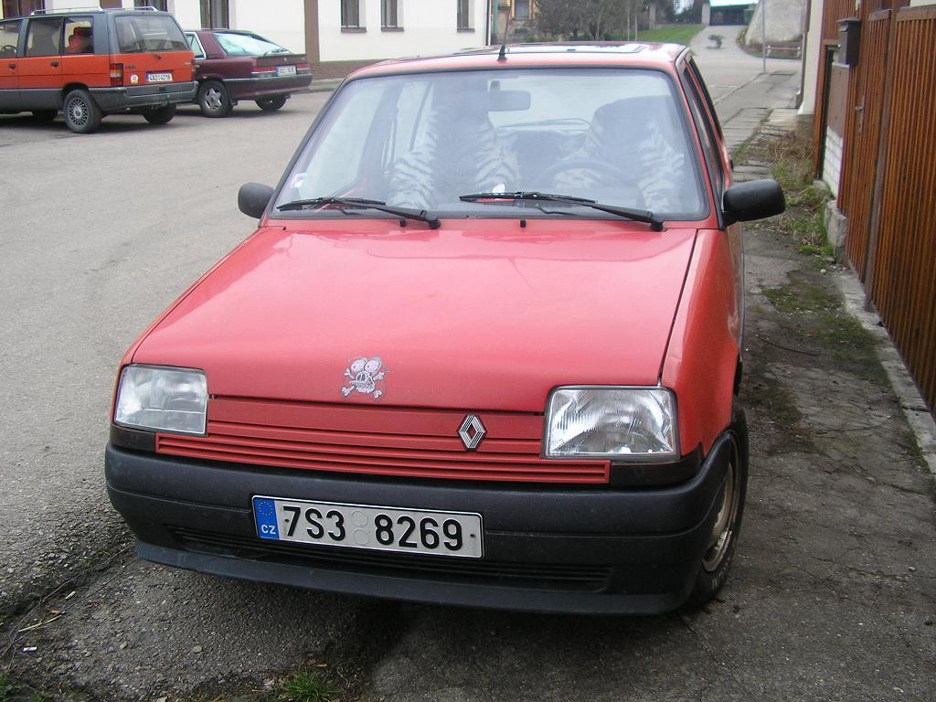 Car detail - Renault 5 TL 1.4